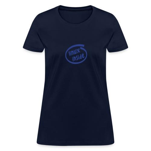 Linux Inside (on Choice) - Women's T-Shirt