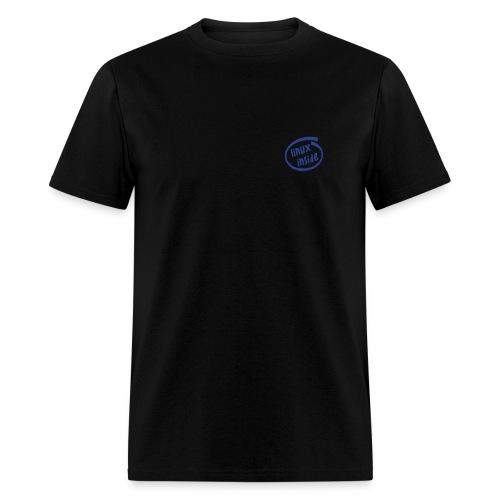 Linux Inside on chest (on Choice) - Men's T-Shirt