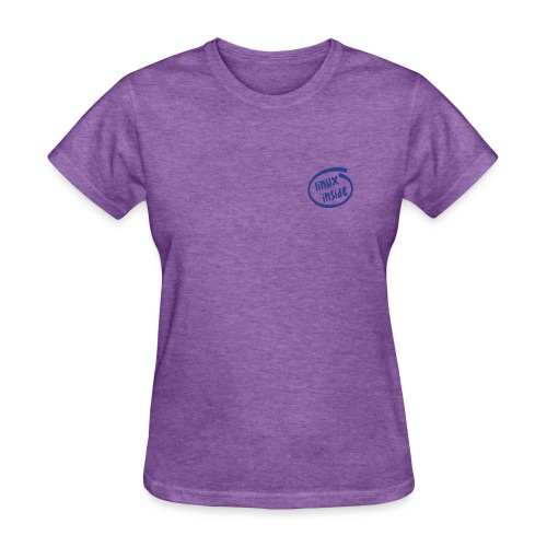 Linux Inside on chest (on Choice) - Women's T-Shirt
