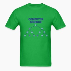 Bright green Binary Search Tree T-Shirts