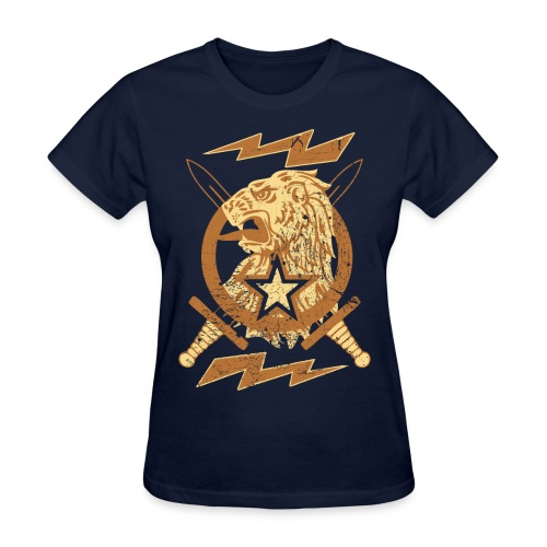 New Lion Crest Designer T-shirts - Women's T-Shirt