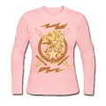 Chocolate Vintage Designer Crest Long Sleeve Shirts