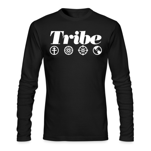 Tribe Icon tee (LS) - Men's Long Sleeve T-Shirt by Next Level