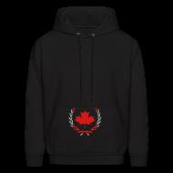 Hoodies ~ Men's Hoodie ~ theMOVEMENTZ -  male fleece hoodie