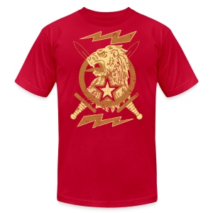 New Lion Crest Designer T-shirts - Men's T-Shirt by American Apparel