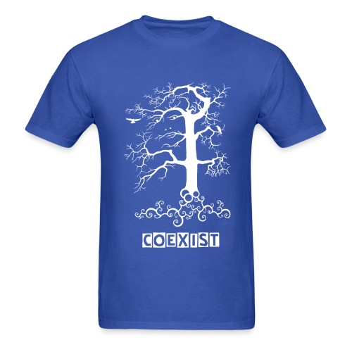 Mens- coexist - Men's T-Shirt