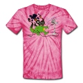 Spider pink Burned Dragon T-Shirts