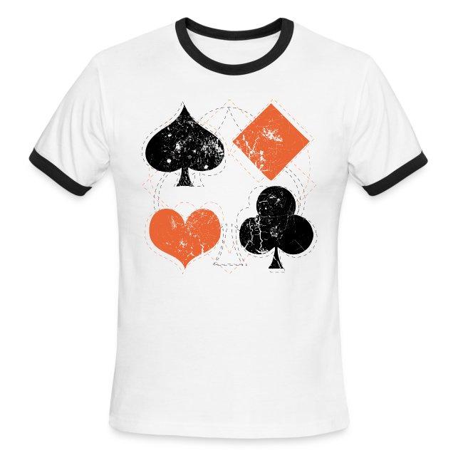 HeartsSpadesClubsand Diamonds Vintage Playing Cards