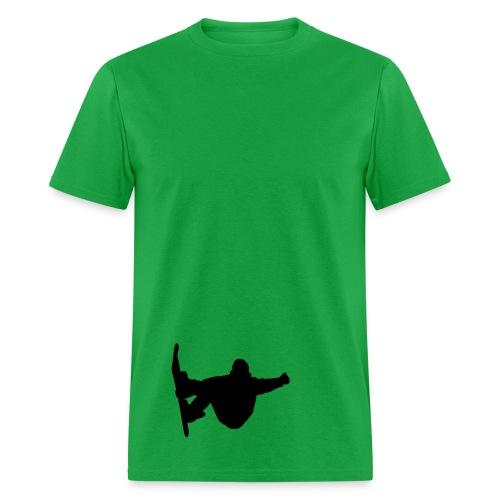 Snowboarder  (dudes) - Men's T-Shirt