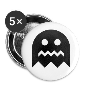 Ghost - 5 Large Buttons - Large Buttons
