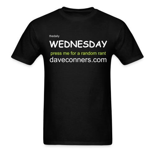 mens wednesday - Men's T-Shirt