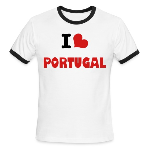 Portugal - Men's Ringer T-Shirt