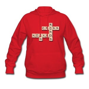 Hooked On Crosswords - Women's Hoodie