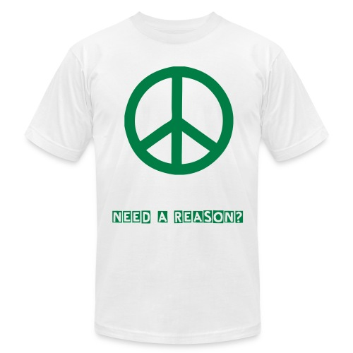 Reasons For Peace - Men's Fine Jersey T-Shirt