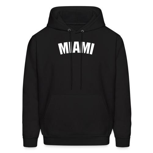 Black Miami Hoodie - Men's Hoodie