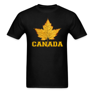Canada T-shirt Men's Maple Leaf Souvenir T-shirts - Men's T-Shirt