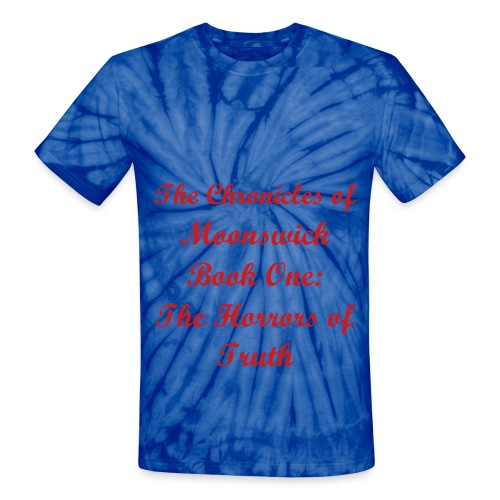 The Chronicles of Moonswick - Unisex Tie Dye T-Shirt