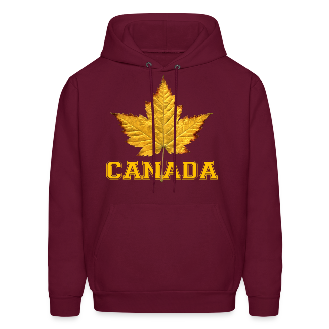 Canada Hoodie Men's Canada Maple Leaf Jacket