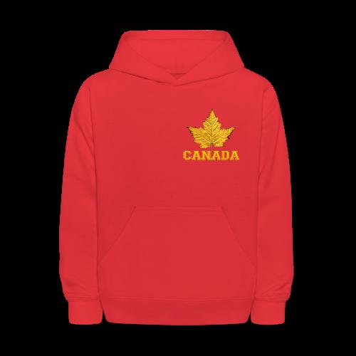 Canada Hoodie Kid's Canada Maple Leaf Jacket - Kids' Hoodie