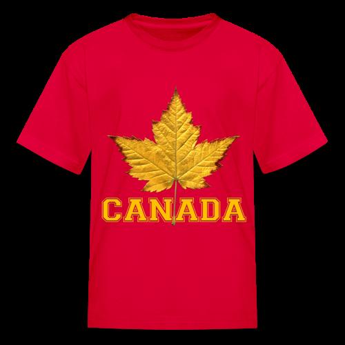 Kid's Canada T-shirt Canada Maple Leaf Kid's Shirt - Kids' T-Shirt