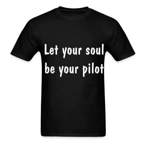 Pilot Soul_Blk - Men's T-Shirt