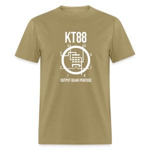 KT88 White Schematic T-Shirt - Men's T-Shirt