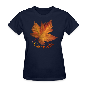 Women's Canada T-shirt Beautiful Maple Leaf Souvenir T-shirts - Women's T-Shirt
