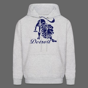 Lions Vintage Men's Hooded Sweatshirt - Men's Hoodie