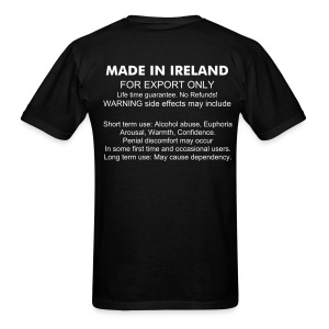 Irish Female - Men's T-Shirt