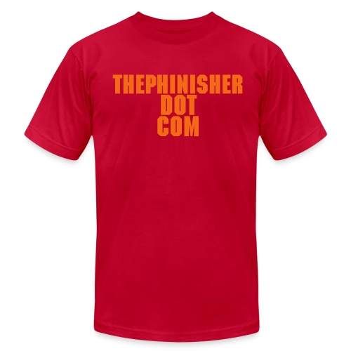 ThePhinisher.com - Men's  Jersey T-Shirt
