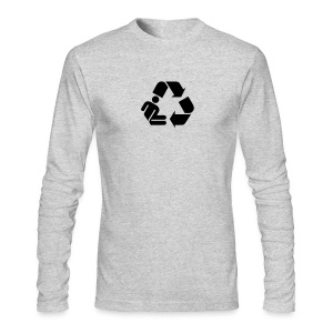 Men's Long-Sleeve T - Recycle Person - Men's Long Sleeve T-Shirt by Next Level