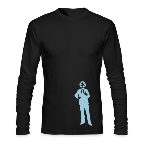 Men's Long-Sleeve T - Recycle Man - Men's Long Sleeve T-Shirt by Next Level