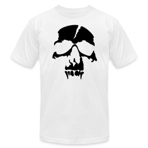 Skull - Men's T-Shirt by American Apparel