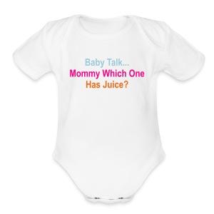 Juice Fountain  - Short Sleeve Baby Bodysuit