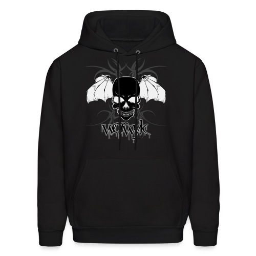 Worwyk - Winged Skull (men) - Men's Hoodie