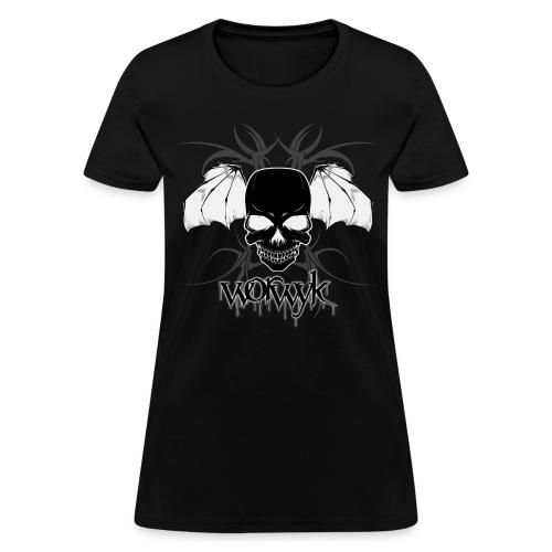 Worwyk - Winged Skull (women) - Women's T-Shirt