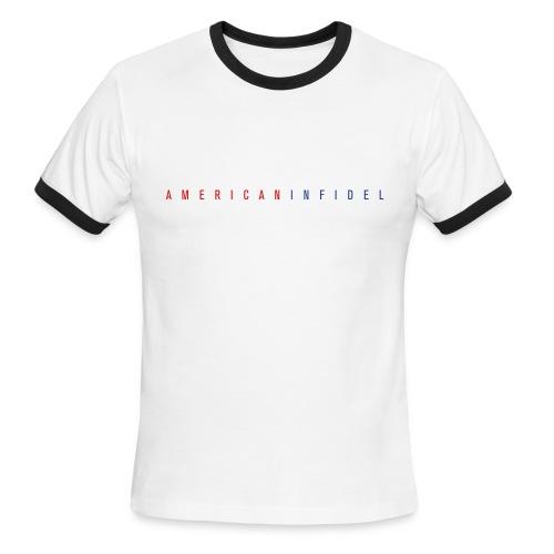 American Infidel - Men's Ringer T-Shirt