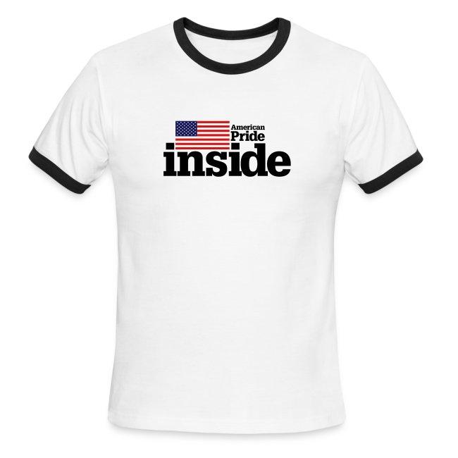 American Pride Inside Ringer Tee