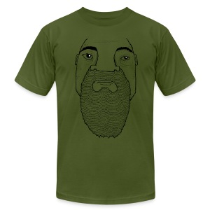 Big bubba bear - Men's T-Shirt by American Apparel