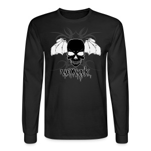 Worwyk - Winged Skull (men) - Men's Long Sleeve T-Shirt