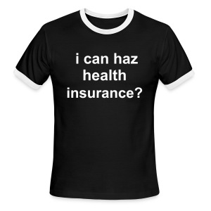 LoLCat Insurance - Men's Ringer T-Shirt
