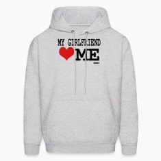 Ash  my girlfriend loves me by wam Hoodies