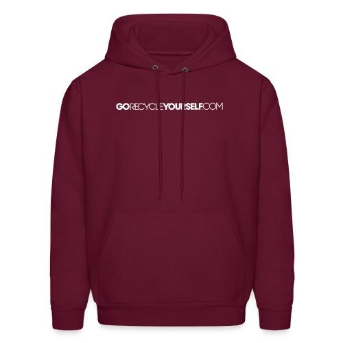 GoRecycleYourself.com - Men's Hoodie