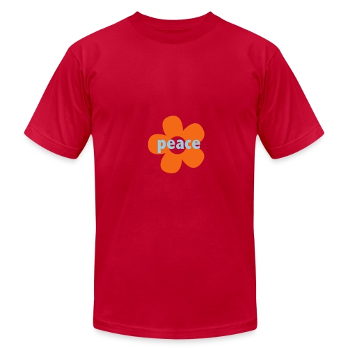 * peace flower * - Men's Fine Jersey T-Shirt