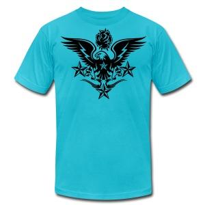 New Mens Designer Tattoo T shirts For Fall - Men's Fine Jersey T-Shirt
