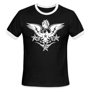 New Mens Designer Tattoo T shirts For Fall - Men's Ringer T-Shirt