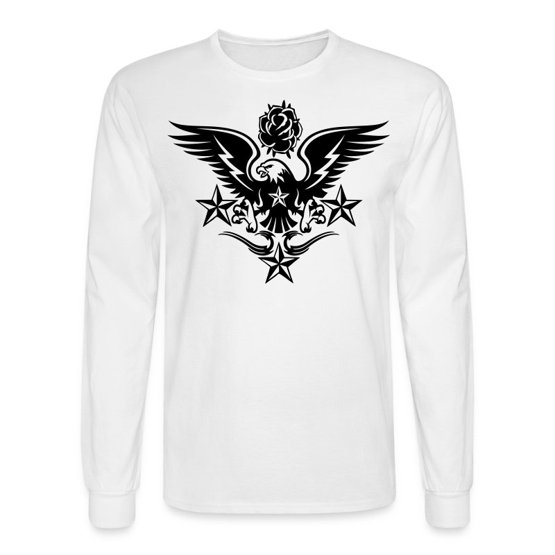 New mens designer tattoo t shirts for fall t shirt for Tattoo shirts long sleeve
