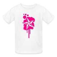 Kids' Shirts ~ Kids' T-Shirt ~ Nautical Star Paint Splatter