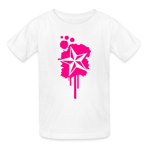 Nautical Star Paint Splatter - Kids' T-Shirt