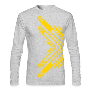 All Over Arrow Shapes Designer Tshirts - Men's Long Sleeve T-Shirt by Next Level